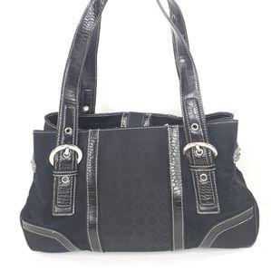 - Nine West Black Purse Shoulder Bag Handbag